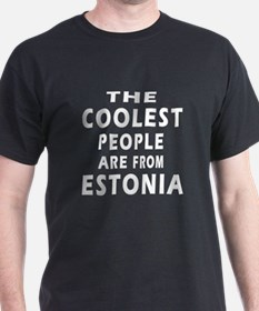 The Coolest Estonia Designs T-Shirt