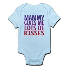 Mammy Gives Me Lots Of Kisses Body Suit