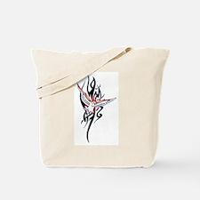 Owl Tribal Tattoo Tote Bag