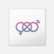Bisexual Knot Sticker