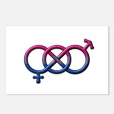 Bisexual Knot Postcards (Package of 8)