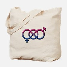 Bisexual Knot Tote Bag