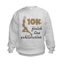 10K Tan Finish Line Sweatshirt