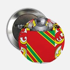 """Galindo Coat of Arms (Family Crest) 2.25"""" Button"""