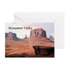 Monument Valley, John Ford's Point,  Greeting Card