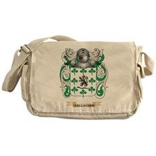 Gallacher Coat of Arms (Family Crest) Messenger Ba