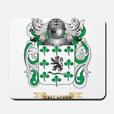 Gallagher Coat of Arms (Family Crest) Mousepad