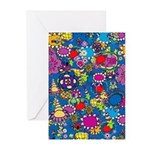 Fun Flowers Greeting Cards (Pk of 10