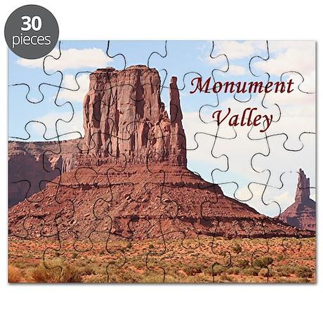 Monument Valley, Mitten, Utah, USA 7 (capt Puzzle