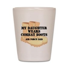 AF Dad Daughter DCB Shot Glass