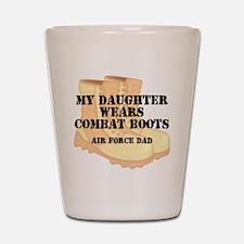 AF Dad Daughter DCB Shot Glass