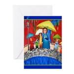 Rain Greeting Cards (Pk of 10)