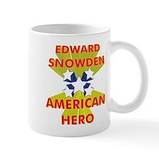 EDWARD SNOWDEN AMERICAN HERO Mug