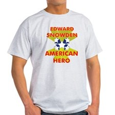 EDWARD SNOWDEN AMERICAN HERO T-Shirt