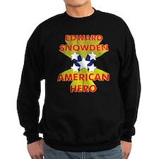 EDWARD SNOWDEN AMERICAN HERO Sweatshirt