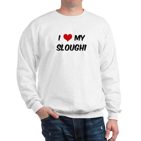I Love: Sloughi Sweatshirt