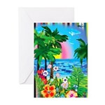 Paradise Island Greeting Cards (Package