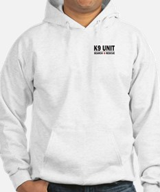 K9 Unit Search Rescue Sticker Hoodie