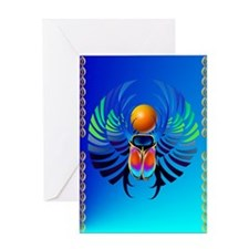 Scarab-The Divine Greeting Card