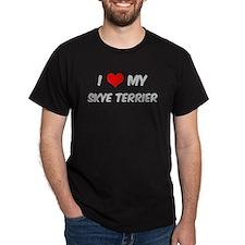 I Love: Skye Terrier T-Shirt