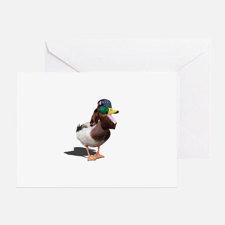 Dynasty Duck Greeting Card