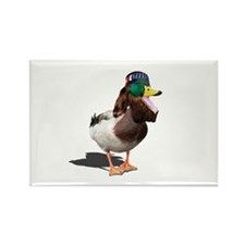 Dynasty Duck Rectangle Magnet