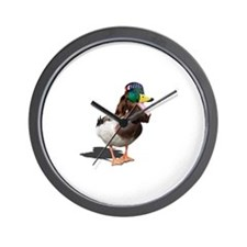 Dynasty Duck Wall Clock