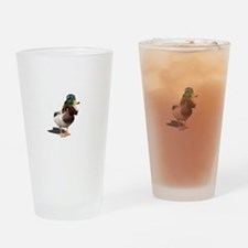 Dynasty Duck Drinking Glass