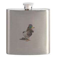 Dynasty Duck Flask