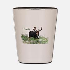 Grandby CO Moose Shot Glass