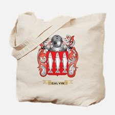 Galvin Coat of Arms (Family Crest) Tote Bag