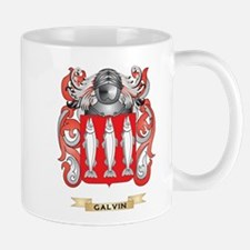 Galvin Coat of Arms (Family Crest) Small Mugs