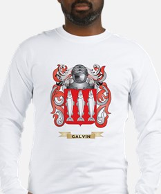 Galvin Coat of Arms (Family Crest) Long Sleeve T-S