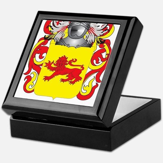 Gamez Coat of Arms (Family Crest) Keepsake Box