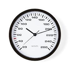 MkII Kilometer Gauge Wall Clock