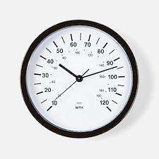 MkI Rabbit / Golf Gauge Wall Clock