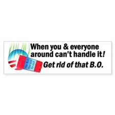 Bad B.O. Bumper Sticker