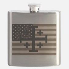American Crusader Flask