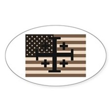 American Crusader Decal