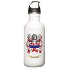 Gannon Coat of Arms (Family Crest) Water Bottle