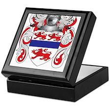 Gannon Coat of Arms (Family Crest) Keepsake Box