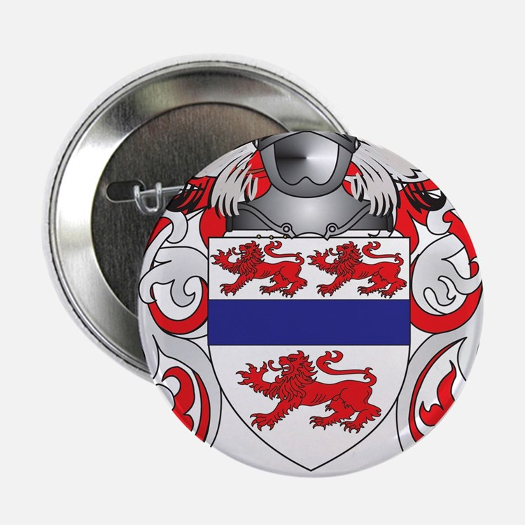 "Gannon Coat of Arms (Family Crest) 2.25"" Button"