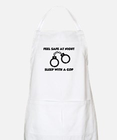 Sleep with a cop BBQ Apron