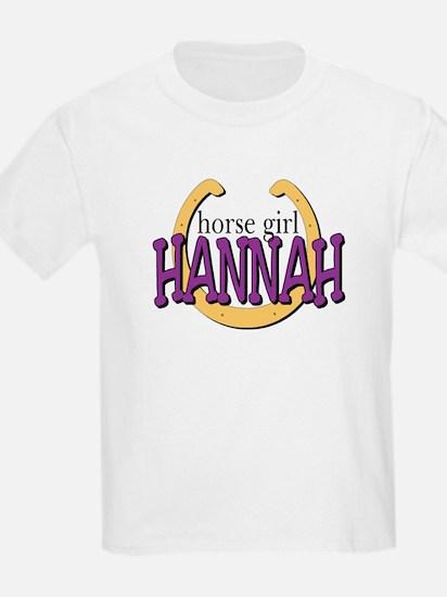 Horse Girl Kids T-Shirt