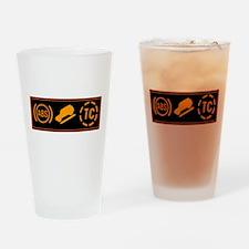 proper border 3 amigos Drinking Glass