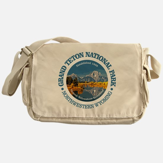 Grand Teton NP Messenger Bag
