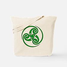 Celtic Spiral Tote Bag