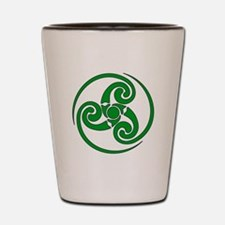 Celtic Spiral Shot Glass