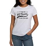 80th birthday Women's T-Shirt