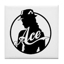 Ace Reporter Tile Coaster